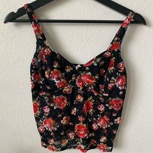 Free People Intimates Floral Bralette / Cami